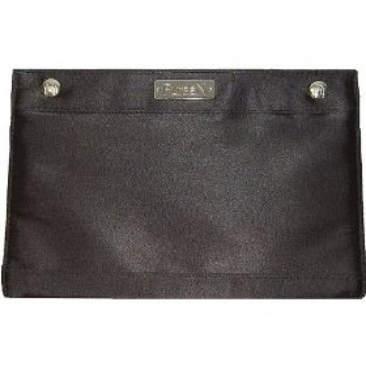 PurseN Make-up Bag with 2 zippered pockets and plastic insert