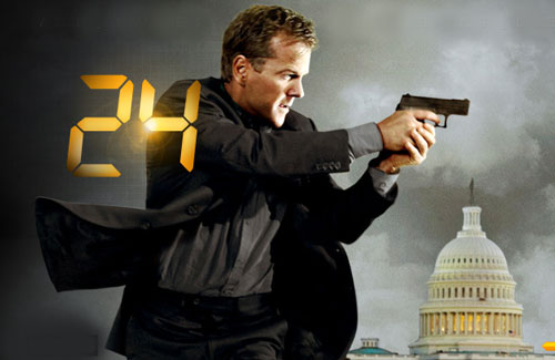 In fantasyland Jack Bauer will keep American interests safe & secure by a routine use of violence.
