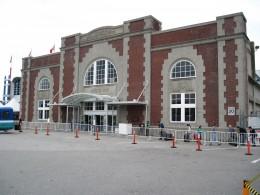Ballantyne Pier (built in 1923) in Port of Vancouver, BC