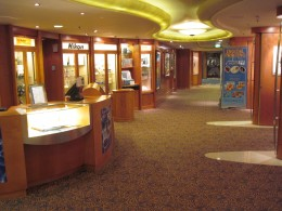 """Serenade of the Seas""  cruise ship has everything including a Mini Shopping Mall"
