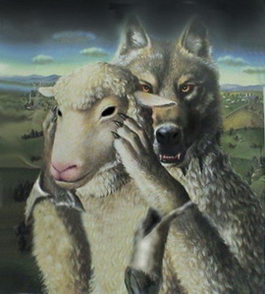 satan comes as a wolf in sheep's clothing. To steal, kill and destroy. He will deceive the very elect.