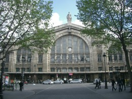 Built in 1846 the Gare du Nord serves 180 million travellers every year.