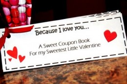 printed love coupons