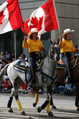 Calgary Stampede -- rodeo is not just for show in Alberta -- it's a way of life, with junior rodeos, high-school rodeos, small town rodeos, big town rodeos and then the biggie -- Calgary Stampede.
