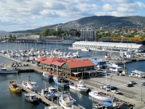 Constitution Dock in Hobart