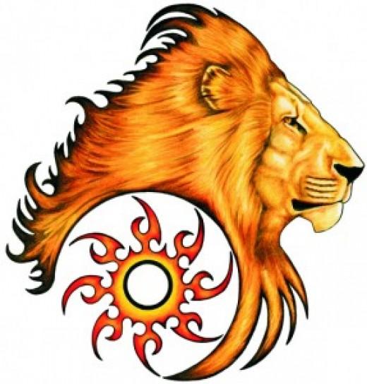 Zodiac Tattoo - Leo