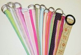 Embroidered Lady s Belts
