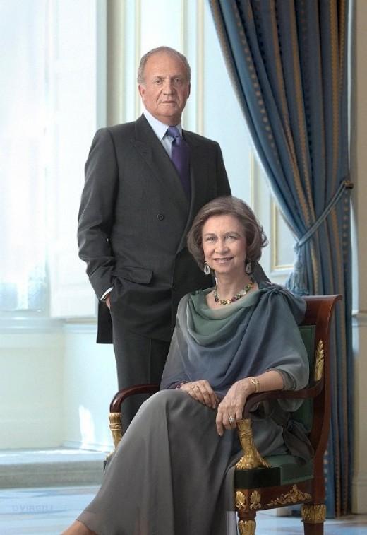 King Juan Carlos & Queen Sofia