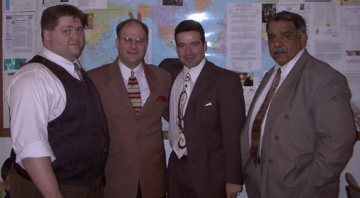 Andrew Grosjean, John Hamblin, Lawrence Mendez, Tino Mendez