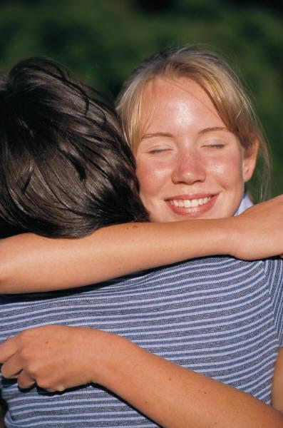 A hug is free!