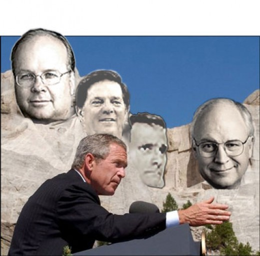 Those closest to Bush are now attempting to salvage his legacy to salvage their own legacies