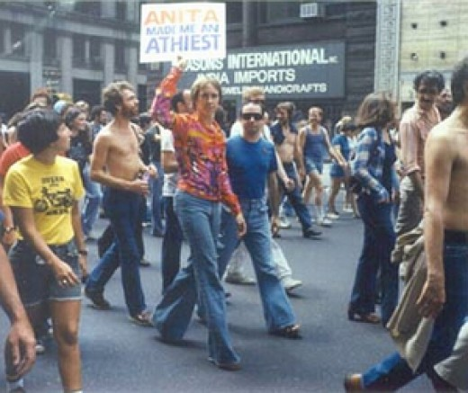A gay rights march (picture from www.reelpridemichigan.com)
