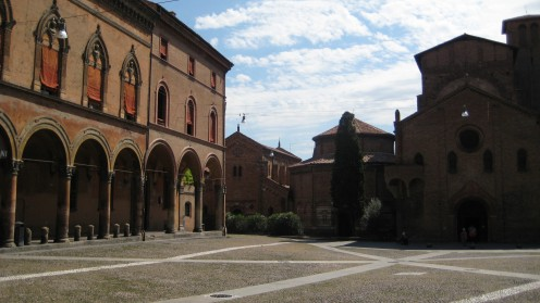 The historic areas of Bologna are beautiful to walk around and photograph.