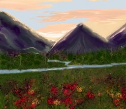 Digital Painting--a great way to relax