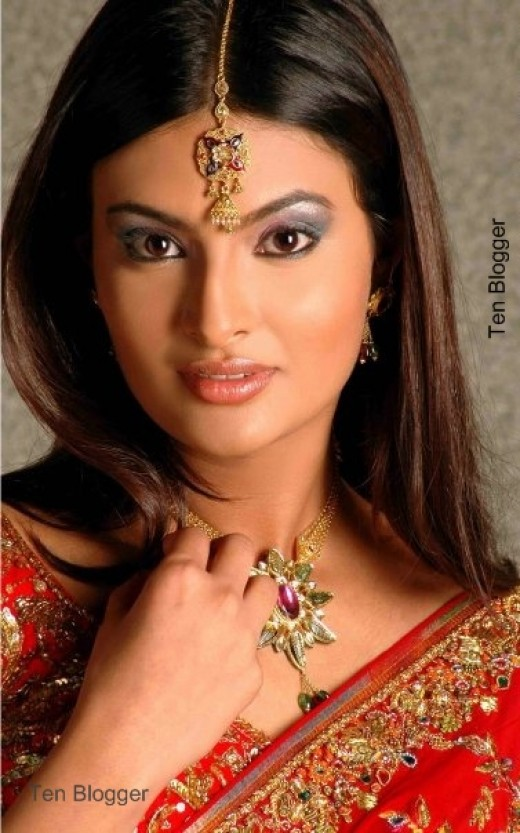 Sayali Bhagat - Miss India - Bollywood Actress Modelling for Jewelry