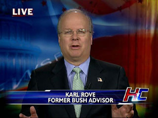 Karl Rove Has Been On Television Every Night To Try To Improve His Former Boss' Legacy and In Turn His Own
