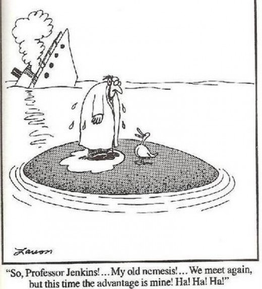 Stress Points. From Farside cartoons
