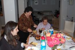 Left to Right: Jaime (sister), Mom, Grandma Tillie