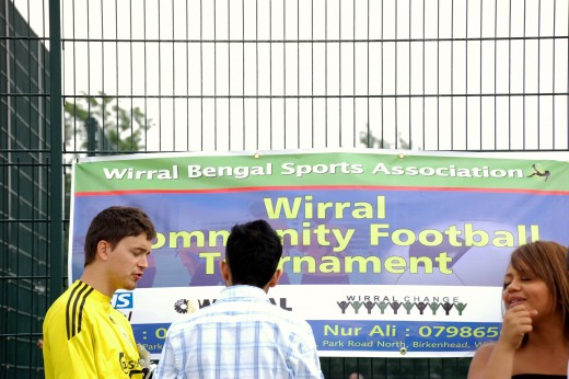 Wirral Community Football Tournament Banner