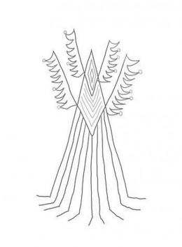abstract trees coloring pages - photo#29