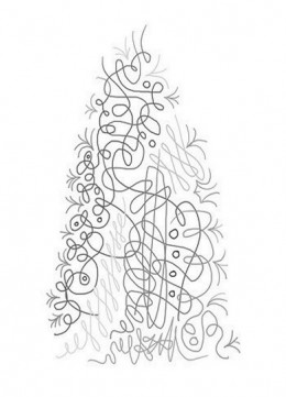 abstract trees coloring pages - photo#38