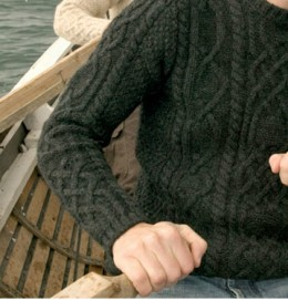 www.inismeain.ie for the original of the species: Aran jumpers.