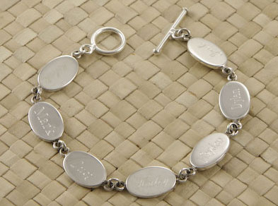 Charm Bracelet for Engraving