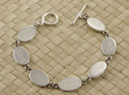 Charm Bracelet for Engraving