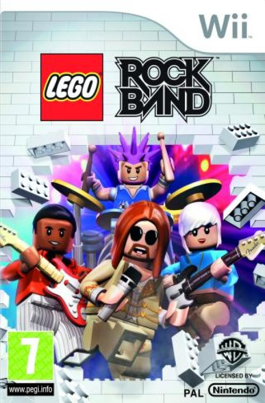 Lego Rock Band is one of my favoriet Wii Games.