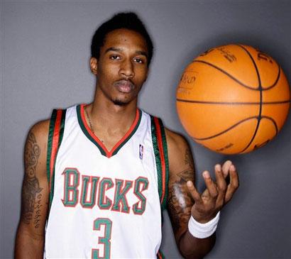Jennings on the Milwaukee Bucks
