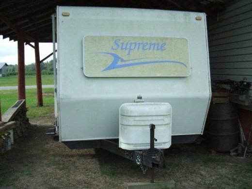 Modern camper-trailer