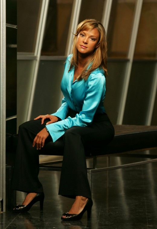 Another shot of Eva playing her Role in CSI Miami