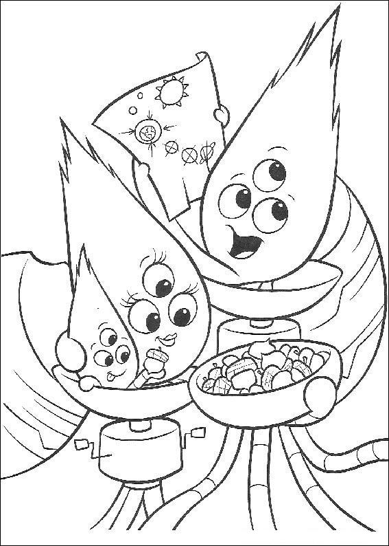 Chicken Little coloring pages to print