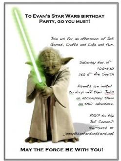 Star Wars Birthday Party Around $50
