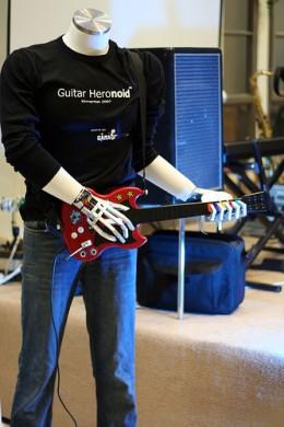 A Guitar Hero Machine...Literally