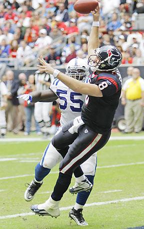 Yet another second half meltdown for Matt Schaub and the Texans