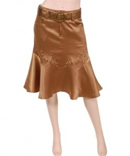 Misses flarred skirts