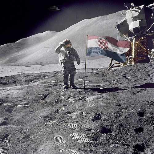 Croats on Moon
