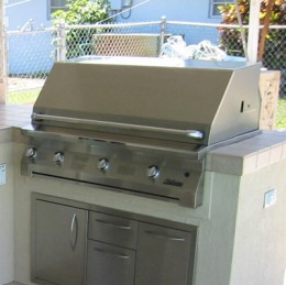 "built in 42"" grill infrared"