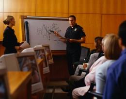 Law Enforcement Training Class