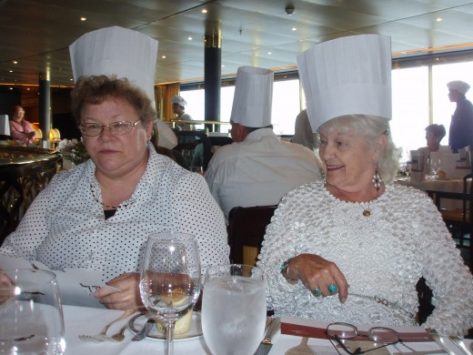 Chef's night on the cruise