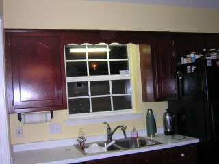 Dated Kitchen before remodel