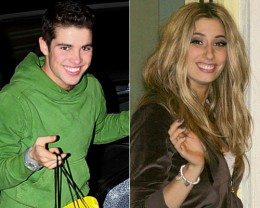 Joe McElderry and Stacey Soloman