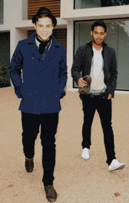 Olly Murs and Danyl Johnson
