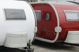 New Retro Small Tow Campers