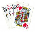 Poker Clip Art - 4 Kings Goo Effect