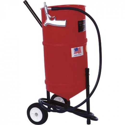 Portable Presure Pot Sandblaster with Gun