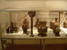 How Chocolate was made , on Display in Cloetta center at Gamla Linkoping