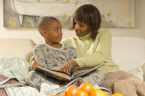 Make it a habit to read to your child every night. You will both look forward to your time together and a great book to share.