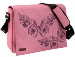 Pretty pink laptop bag for women